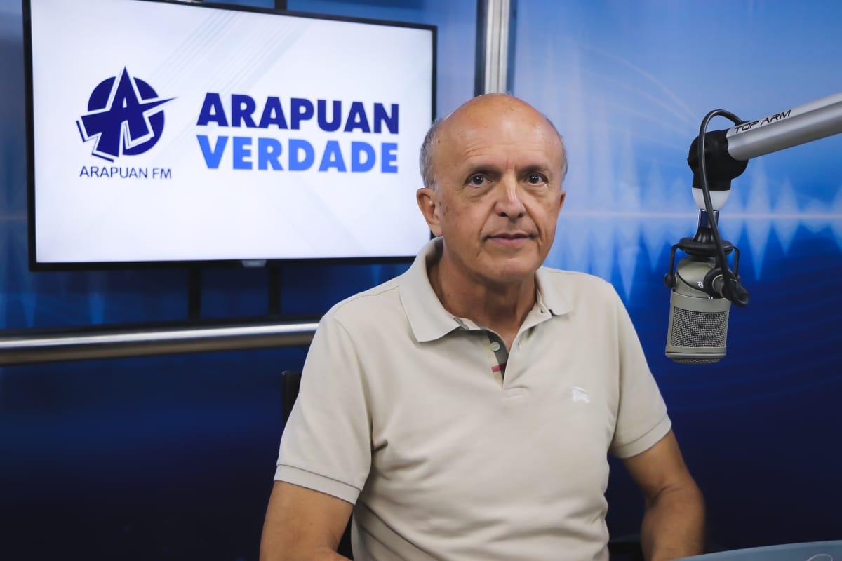 geraldo - Geraldo Medeiros diz que próximo decreto deverá ser mais suave e há uma tendência que haja queda no número de casos e mortes por covid-19 na Paraíba