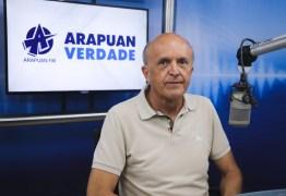 Geraldo Medeiros diz que próximo decreto deverá ser mais suave e há uma tendência que haja queda no número de casos e mortes por covid-19 na Paraíba