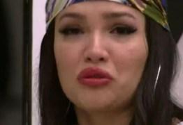 Juliette chora após ficar em último lugar em dinâmica: 'Tô com desgosto'
