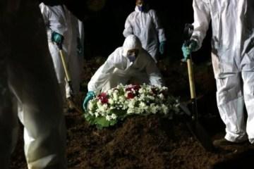 mo - Com média móvel diária de 2.885, Brasil ultrapassa 373 mil mortes por Covid-19