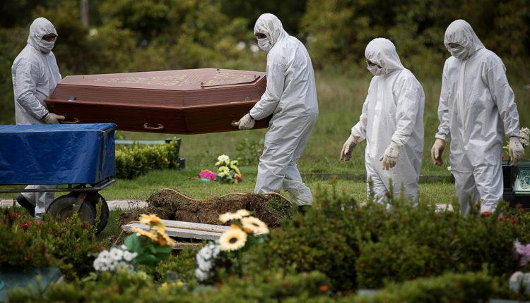 mortes covid - Mortes de jovens entre 20 a 29 anos subiram 1.081% desde janeiro, revela balanço da Fiocruz