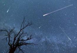 Final de abril terá uma chuva de meteoros e uma Super Lua