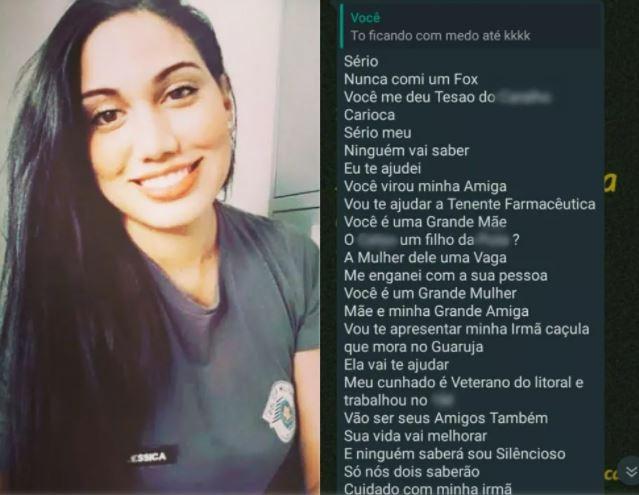 policial - Policial assediada e ameaçada de estupro e morte por tenente pede medida protetiva