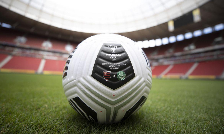 super copa bola - Flamengo e Palmeiras decidem neste domingo a Supercopa do Brasil