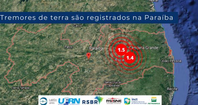 tremo - Cidades da Paraíba registram tremores na terra
