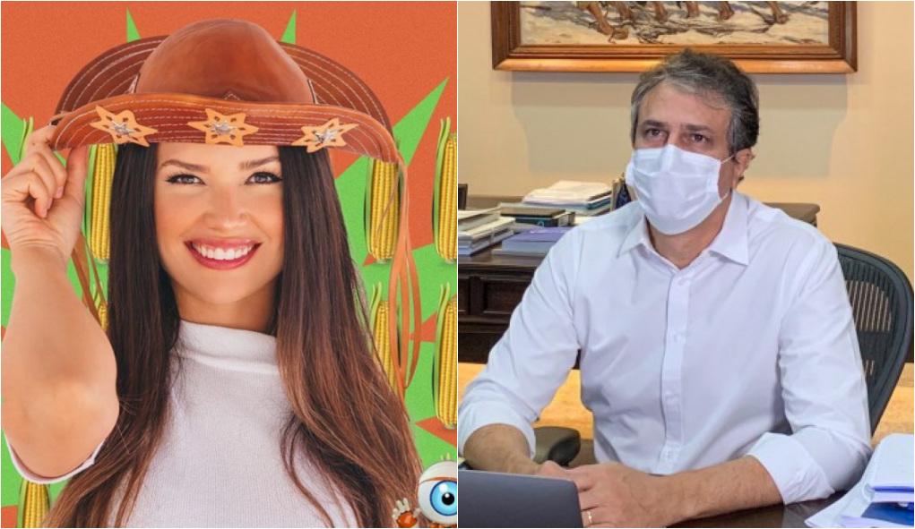 """1620641510422421 - Governador do Ceará diz que Juliette """"representa o que há de mais forte e lindo no Nordeste"""""""