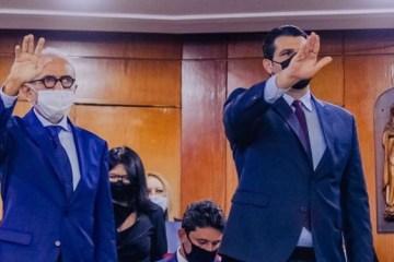 182023952 857512368135678 8996029396289581620 n 750x375 1 - Em dia de #tbt, Leo Bezerra relembra posse na PMJP e agradece aos pessoenses pela permissão de vivenciar momento único e de grande emoção