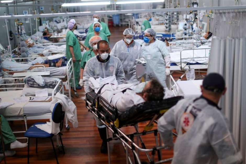 2021 05 10T220102Z 1 LYNXMPEH49160 RTROPTP 3 HEALTH CORONAVIRUS BRAZIL - PREOCUPANTE: 13 Estados registram alta de infecções pela covid-19