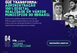 Encontro virtual discute soluções digitais e economia no setor público