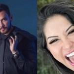 """Bruno e Mayra e1620858515528 - Após ser chamado de """"médico de merda"""", paraibano processa digital influencer"""