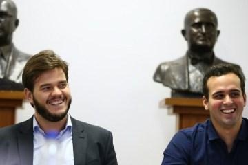 Brunocunhaposse e1620252470599 - São João de CG: prefeito e vice divergem sobre a realização da festa com público; entenda