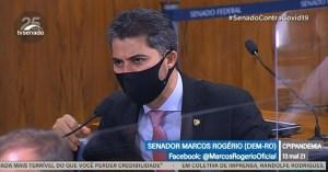 CPI da Pandemia Marcos Rogerio 1 300x157 - Governo de SP diz que senador bolsonarista mente na CPI e afirma que estado não recomenda cloroquina para tratar Covid-19
