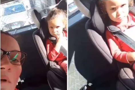 """Capturar 104 - CONTEÚDO SENSÍVEL! """"Vamo se matar filha"""": antes de causar grave acidente, mãe faz filha se despedir do pai; criança está bem - VEJA VÍDEO"""