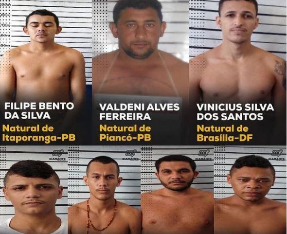 Capturar 120 - Sete presos fogem de cadeia em Itaporanga e são pegos no Sertão paraibano