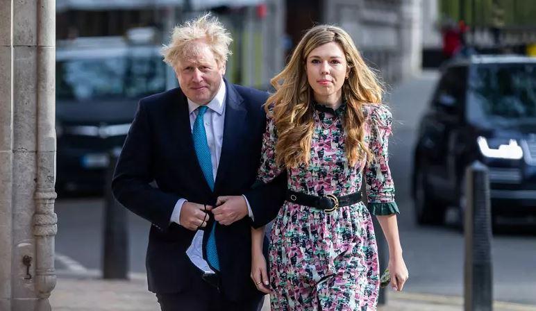 Capturar.JPGedsh - Premiê britânico Boris Johnson se casa em segredo na Inglaterra