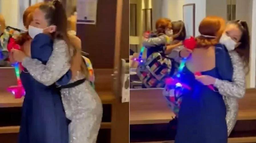 Capturar.JPGooo - Juliette reencontra a amiga Deborah Vidjinsky após vencer o BBB21: 'Tô em choque' - VEJA VÍDEO