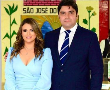 Esau Nobrega e Brenna Victória Sao Jose do Bonfim - É O AMOR! Prefeitos paraibanos esbanjam amor pelas esposas, conheça os casais considerados mais bonitos