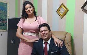 Genivaldo Temborio e Isadora Araujo Prata e1621025362810 - É O AMOR! Prefeitos paraibanos esbanjam amor pelas esposas, conheça os casais considerados mais bonitos