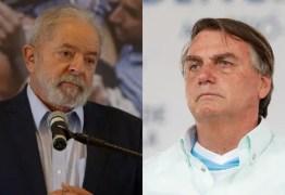 Líder nas pesquisas, Lula supera Bolsonaro também em popularidade digital