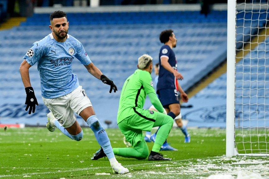Mahrez - Manchester City vence o PSG de novo e vai à final da Liga dos Campeões pela 1ª vez na história