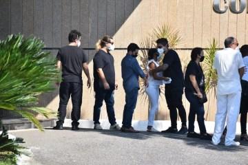 WhatsApp Image 2021 05 06 at 16.10.08 - TRISTEZA E COMOÇÃO: familiares e amigos se despedem de Paulo Gustavo em cerimônia restrita
