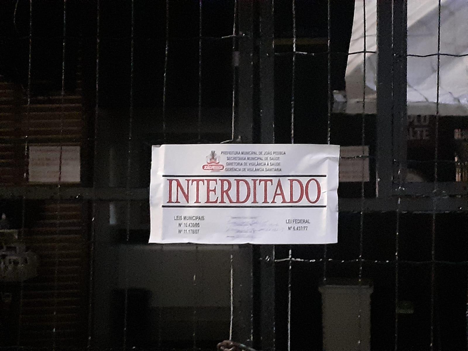 WhatsApp Image 2021 05 09 at 09.39.39 3 - COVID-19: Vigilância Sanitária interdita bar em João Pessoa por aglomeração no Dia das Mães