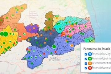 CHUVAS NO ESTADO: Paraíba tem atualmente 10 açudes sangrando, porém 18 em situação crítica – CONFIRA QUAIS