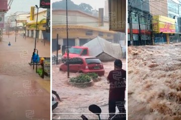 WhatsApp Image 2021 05 14 at 12.13.32 - FAKE NEWS: imagens de enxurrada que circulam nas redes sociais não é em Sapé, mas sim em São Paulo, o fato aconteceu em 2020 - VEJA VÍDEO