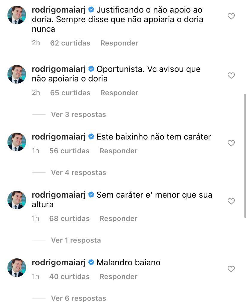 """WhatsApp Image 2021 05 14 at 17.35.06 - Maia xinga ACM Neto nas redes sociais: """"Oportunista, baixinho sem caráter"""""""