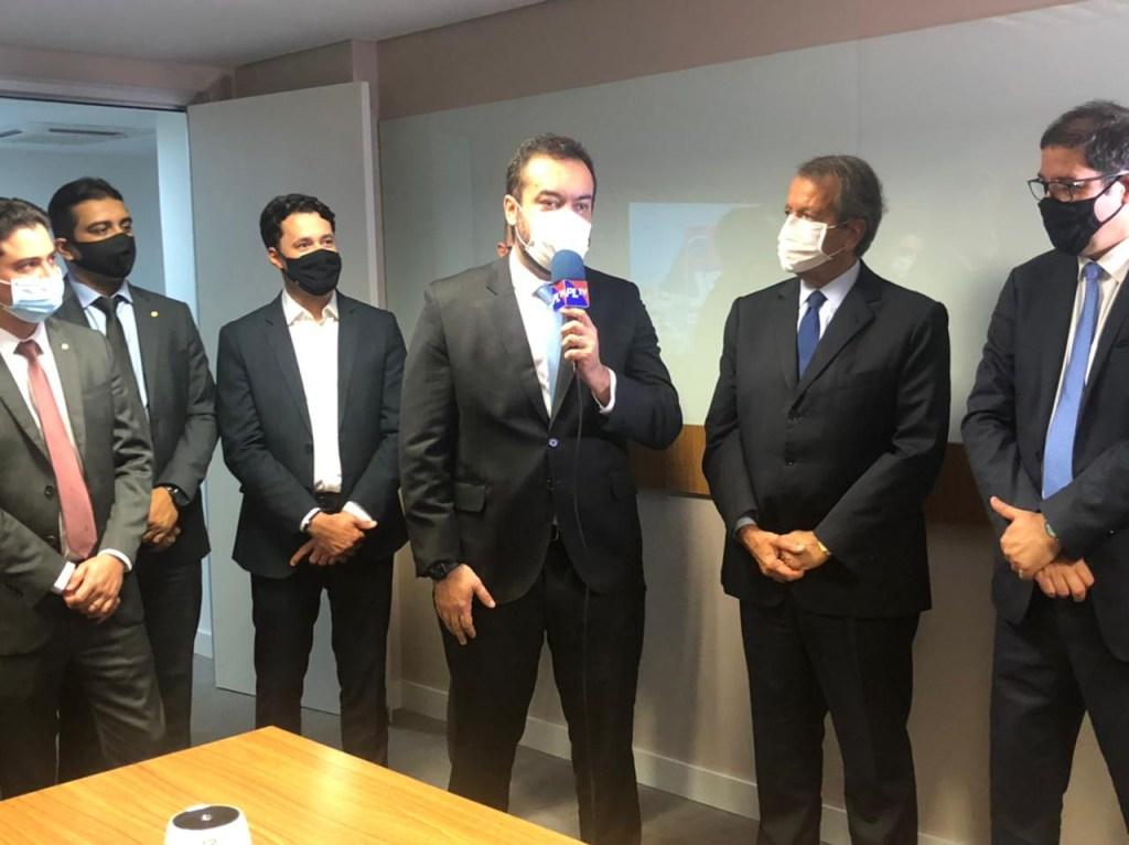 WhatsApp Image 2021 05 26 at 17.51.47 1024x766 - Cláudio Castro se filia ao PL em cerimônia com a presença de Bolsonaro, em Brasília