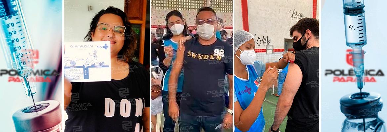 WhatsApp Image 2021 05 27 at 09.43.59 1 - VACINA SIM: três integrantes da equipe do Polêmica Paraíba são vacinados contra a Covid-19 e falam sobre importância da imunização; confira
