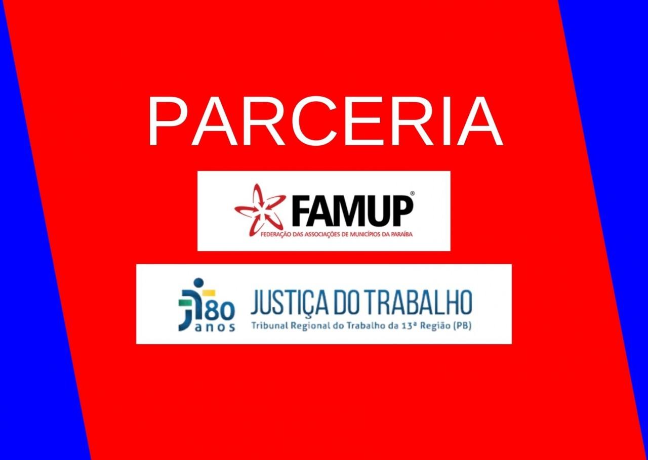 bb1a7091 37e0 6bfe b768 5ab22669f201 - Famup e Tribunal do Trabalho firmam parceria para ajudar municípios no combate à covid-19 com recursos de multas