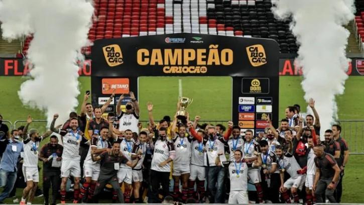 camp - Flamengo vence o Fluminense e conquista o Campeonato Carioca pela 37ª vez