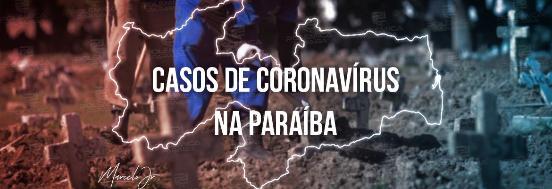 casos coronavirus 1 - Paraíba registra 1.091 novos casos de Covid-19 e 23 novos óbitos neste sábado