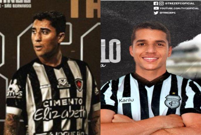 csm reforcos treze botafogo pb 1f9e9395c2 - Treze e Botafogo-PB anunciam reforços nas equipes; veja