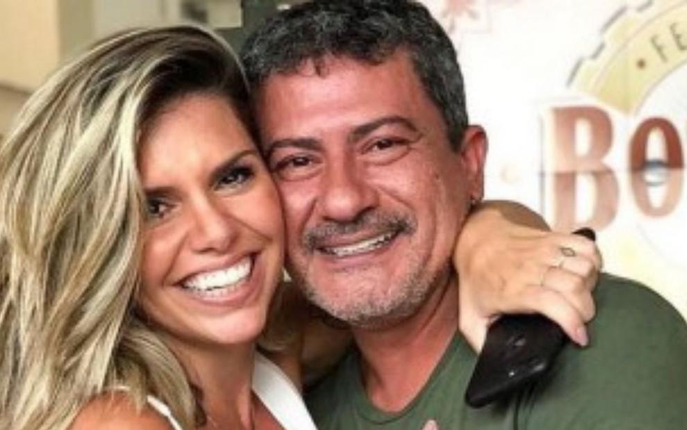 cybelle herminio tom veiga reproducao  - Ex-mulher de Tom Veiga nega envenenamento de intérprete de Louro José: 'Vamos exumar, então'