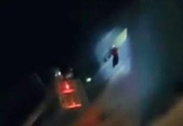 DESESPERO: jogador é resgatado de incêndio pela janela de hotel – VEJA VÍDEO