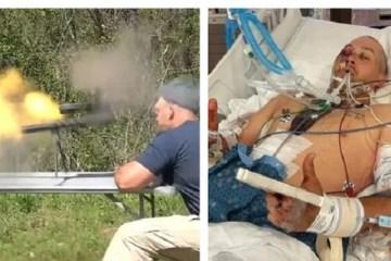 m9 a1 - YouTuber especializado em armas escapa por pouco da morte após rifle explodir na sua cara