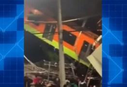 Vídeo mostra desespero e pânico após acidente no metrô do México; assista