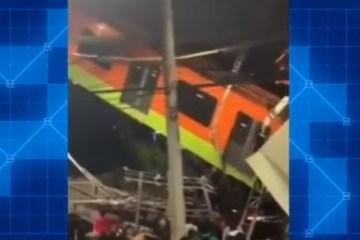 metro 1 - Vídeo mostra desespero e pânico após acidente no metrô do México; assista