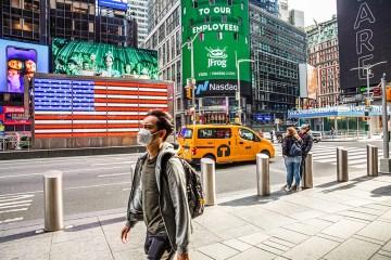 nova york coronavirus - Prefeito de Nova York quer vacinar turistas que visitarem a cidade e cita brasileiros