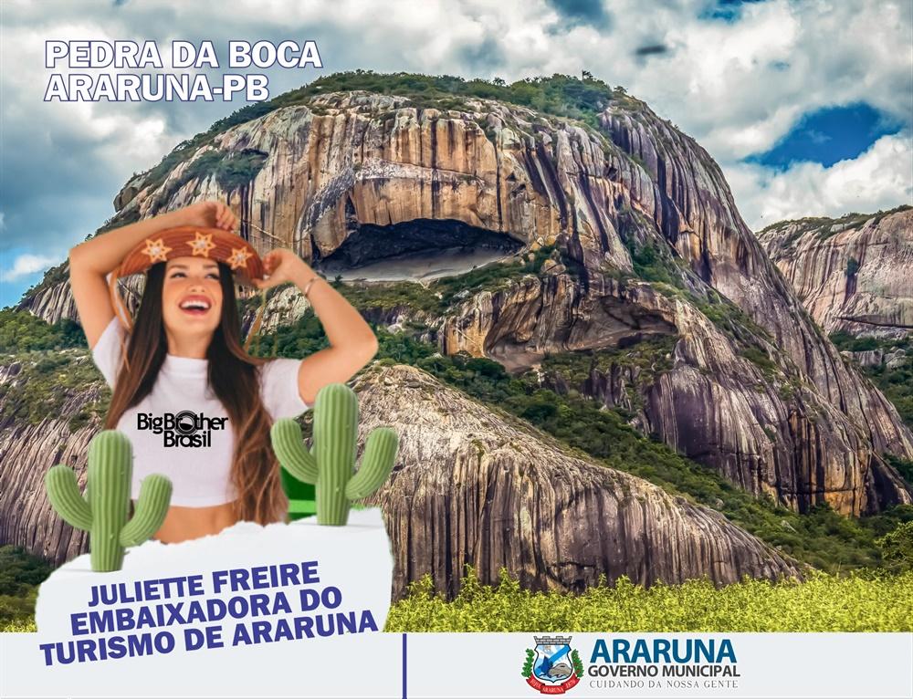 prefeitura concede titulo de embaixadora do turismo de araruna a juliette freire1621339918 - Prefeitura concede título de Embaixadora do Turismo de Araruna à Juliette Freire