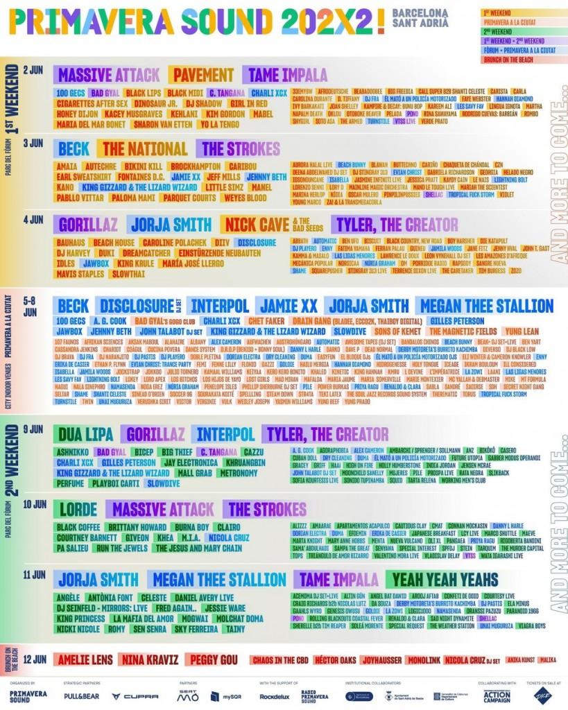 primaverasound - Primavera Sound 2022 tem Pabllo Vittar no line-up; veja programação do festival