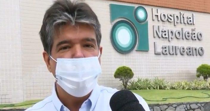 """ruy laureano 706x375 1 - """"Já estamos vendo a aquisição de um acelerador linear"""" revela Ruy Carneiro ao fazer nova visita ao Hospital Napoleão Laureano"""