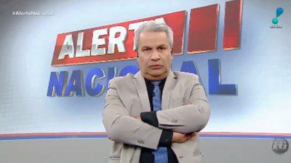 sikera jr redetv 1 418x235 1 - TRETA NO PROGRAMA: Sikêra Jr. abandona 'Alerta Nacional' ao vivo e é substituído por repórter - VEJA VÍDEO