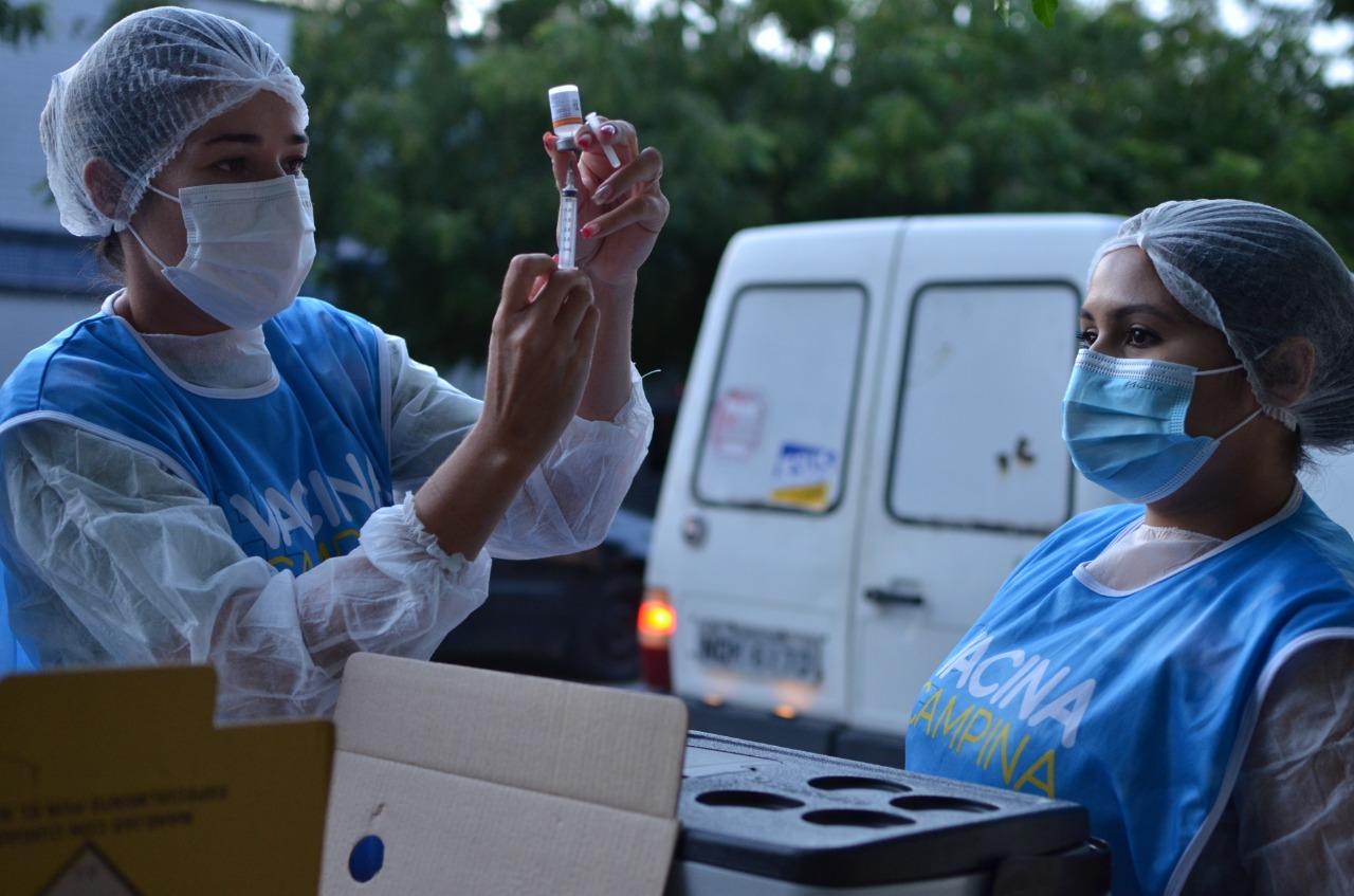 vacinacao saude - Covid-19: Campina Grande vacina pessoas a partir de 30 anos com comorbidades