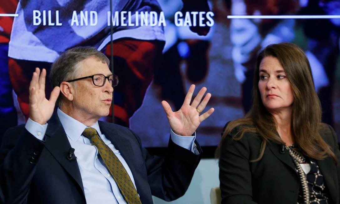 x92727360 FILE PHOTO Bill and Melinda Gates attend a debate on the 2030 Sustainable Development Goals.jpg.pagespeed.ic .hk3h25PLw4 - No divórcio de Melinda e Bill Gates, fortuna de US$ 124 bi inclui de rancho de Buffalo Bill a relíquia de Da Vinci