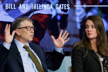 x92727360 FILE PHOTO Bill and Melinda Gates attend a debate on the 2030 Sustainable Development Goals.jpg.pagespeed.ic .hk3h25PLw4 - No divórcio de Melinda e Bill Gates, fortuna de US$ 124 bi inclui de rancho de Buffalo Bill a relíquia de Da Vinci
