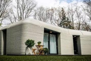 SUSTENTABILIDADE: Casal se muda para a primeira casa impressa em 3D da Europa – VEJA VÍDEO