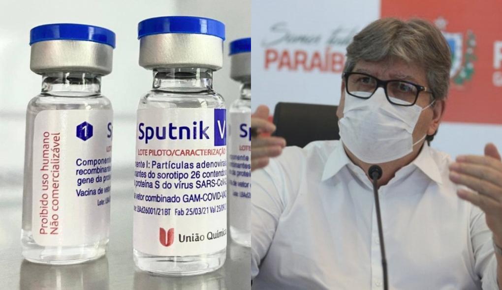 1623838331927749 - IMUNIZAÇÃO: João Azevêdo anuncia importação de 81 mil doses da vacina Sputnik V